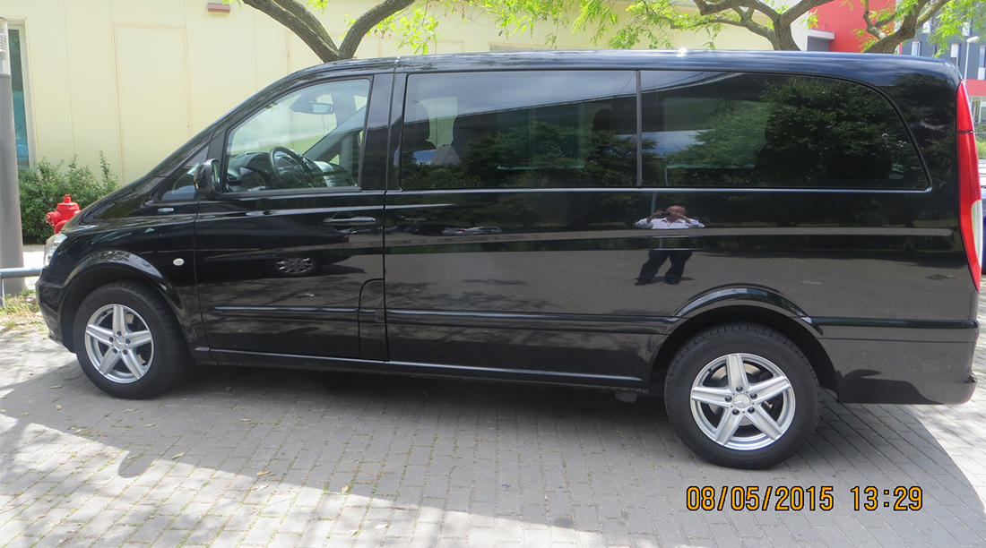 Vans And Minivans with driver in Portugal