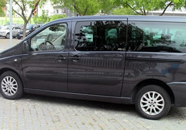 Minivans with driver